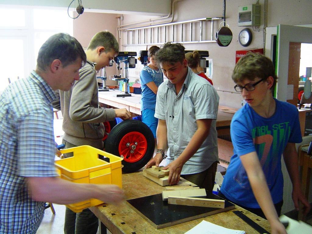 Zaaggway-Team bei der Arbeit